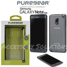 PureGear Samsung Galaxy Note Edge Slim Shell Case Clear W/ Black Trim, 61030PG