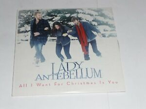 Lady Antebellum - All I want for Christmas is you (Promo CD Single) | eBay