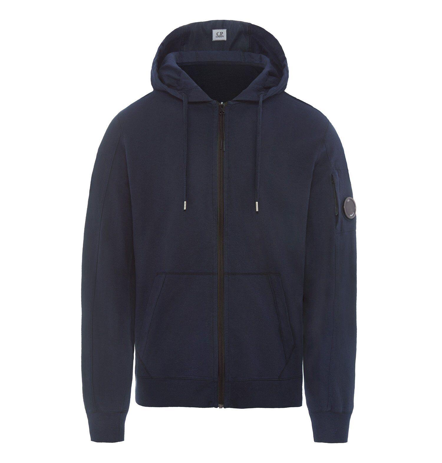 Männer Pullover CP Company 52A002246G Anzug Abzugshaube Reißverschluss Taschen
