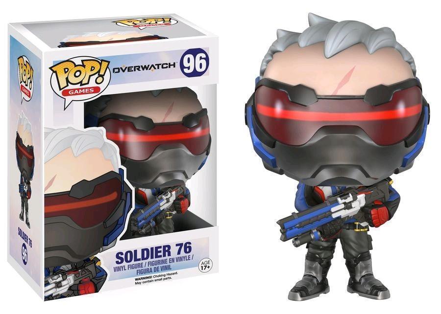 FONKO POP spel Overwatch SOLDIER 76 -VINIL FIGURE