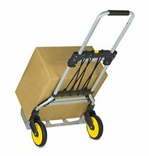 New Listing Folding Hand Truck And Dolly 264 Lb Capacity Heavy Duty Luggage Trolley Cart