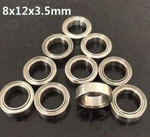 10pcs 683zz 3x7x3mm Open Miniature Bearings ball Mini Hand Bearing Spinner ^