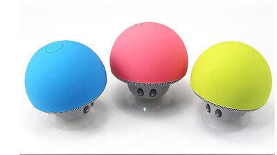 Waterproof Wireless Mini Bluetooth Mushroom Portable Stereo Speaker for iPhone K