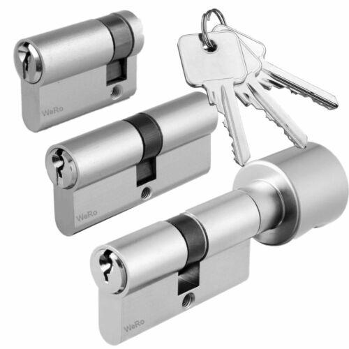 Schließzylinder für gleichschießendes SET frei kombinierbar