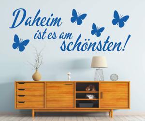 X4440-Wandtattoo-Spruch-Daheim-ist-am-schoensten-Sticker-Wandaufkleber-Aufkleber