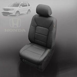 black katzkin leather interior seat cover fit 2009 2010 2011 honda