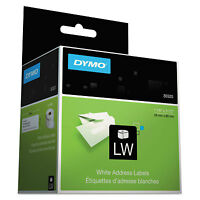 Dymo Labelwriter Address Labels 1 1/8 X 3 1/2 White 260 Labels/roll 2 Rolls/pack on sale