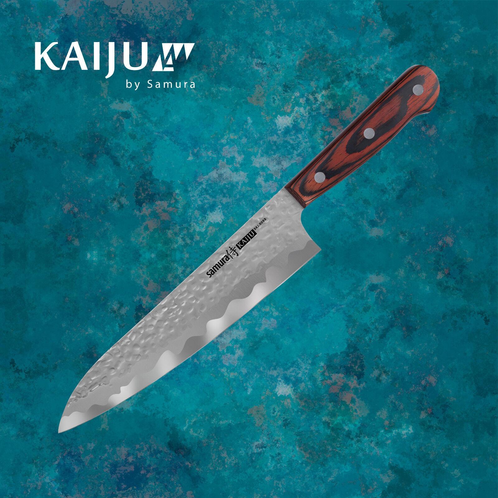 Samura KAIJU professionnel japonais cuisine couteau de cuisine 8.3  210 mm Pakka Wood