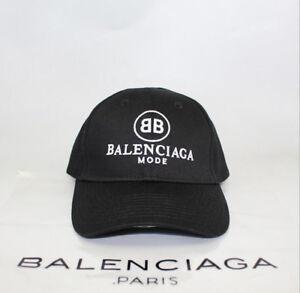 507deb6128c Image is loading NEW-Baseball-Cap-BALENCIAGA-BB-MODE-Embroidery-Adjustable-