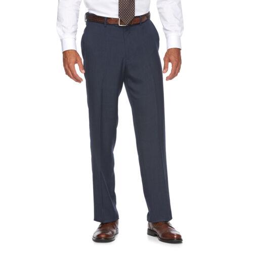 New Croft /& Barrow Mens Stretch Comfort Opticool Flat-Front Dress Pants MSRP $54