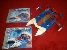 RARE costruito Mega Bloks Pro-COSTRUTTORE-Cyclone Racer, 565 PZ, 9788