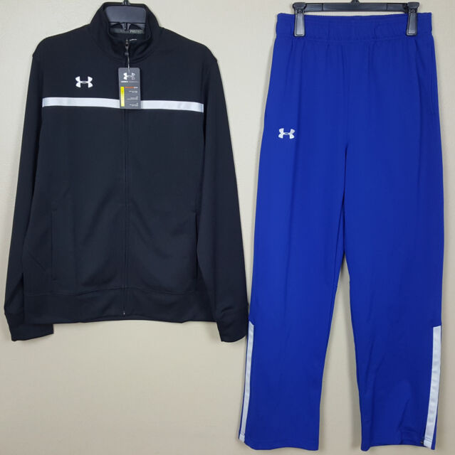 Under Armour Womens Advance Woven Warm-Up Jacket Small Royal