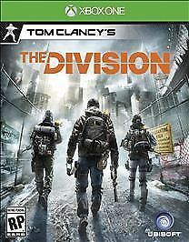 Tom Clancy's The Division (Microsoft Xbox One, 2016) BRAND NEW FACTORY SEALED