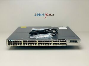 Cisco-WS-C3750X-48PF-L-48-Port-PoE-3750X-Gigabit-Switch-SAME-DAY-SHIPPING