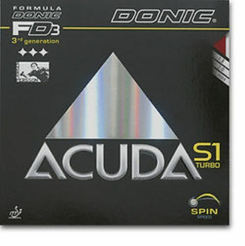 Donic Acuda S1 S1 S1 Turbo 1,8  2,0   Max. mm Schw Rot 05af86