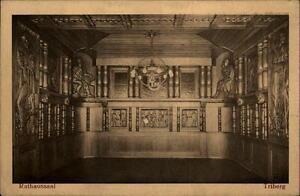 Triberg Schwarzwald Postkarte ~1910/20 Rathaussaal Innenansicht ungelaufen