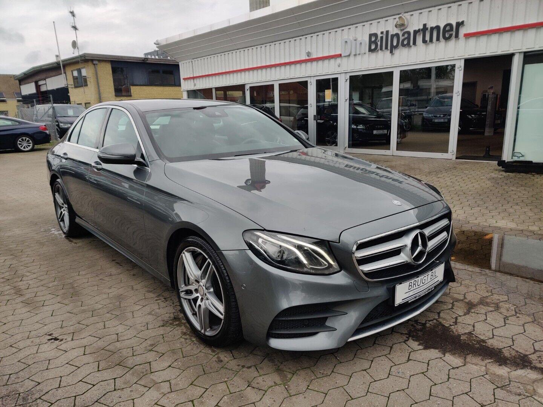 Mercedes E350 d 3,0 AMG Line aut. 4d - 479.900 kr.