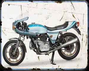 Ducati 900Ss Darmah A4 Photo Print Motorbike Vintage Aged