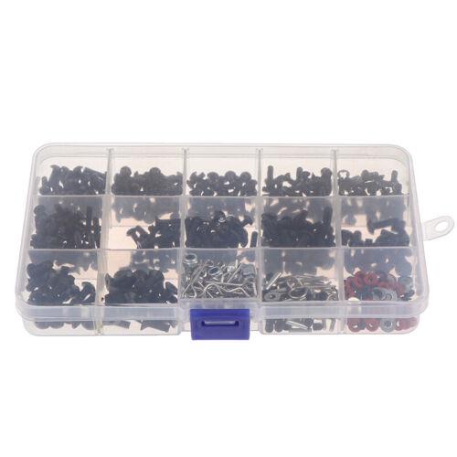 500pc Repair Tool and Screws Box Set for 1//10 HSP RC Car xt