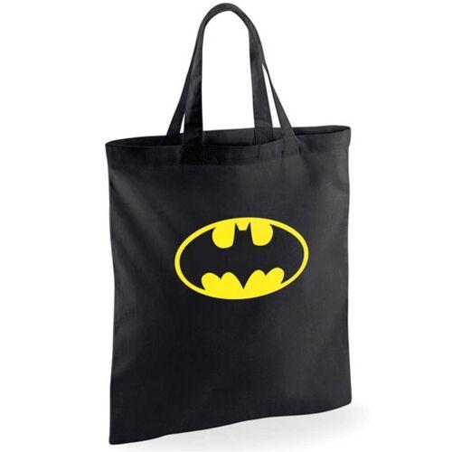 Batman Tragetasche Stoffbeutel Beuteltasche Shopper Logo
