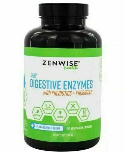 Zenwise Health Daily Digestive Enzymes With Prebiotics Probi