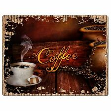 PP0944 COFFEE Parking Plate Chic Sign Home Restaurant Cafe Kitchen Decor Gift