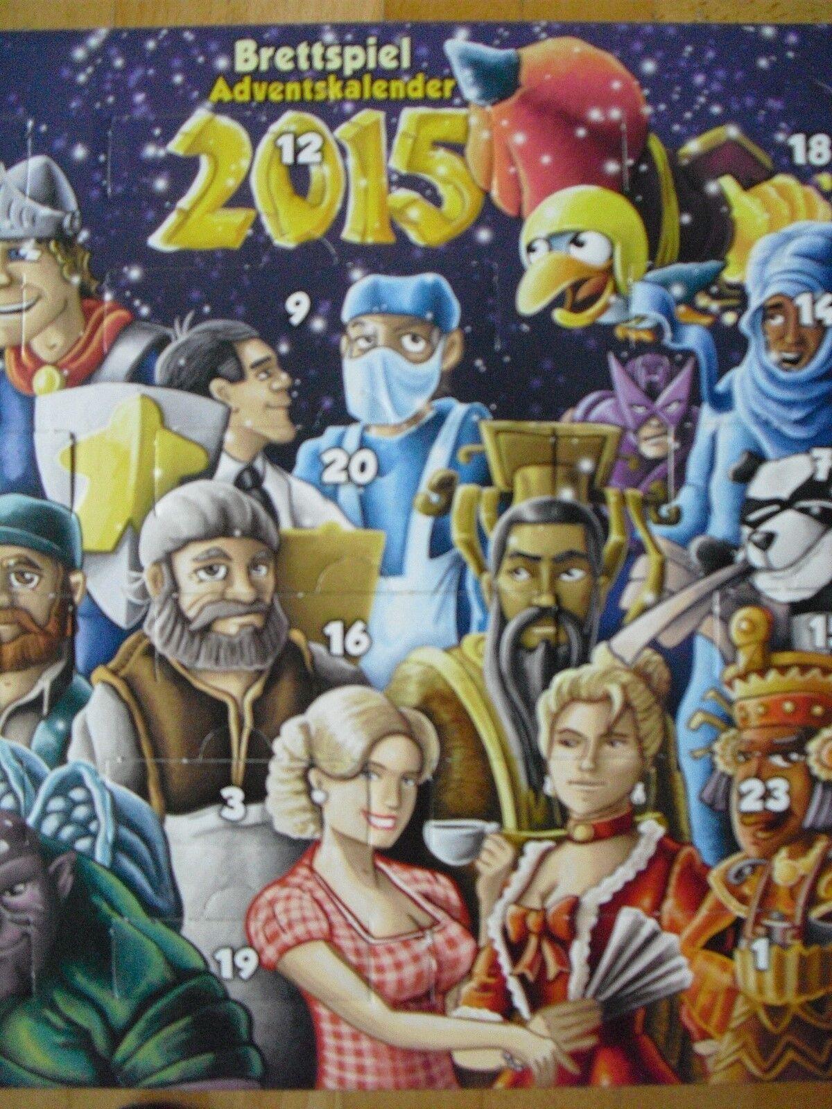Brettspiel Adventskalender 2015 2015 Adventskalender (Individual Mini-Expansions) 78ad8a
