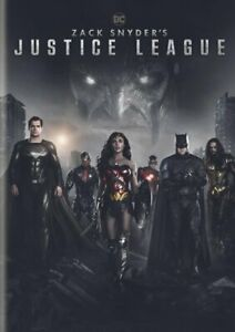Zack Snyder's Cut: 2021 Justice League DVD - Brand New - Gal Gadot - Free Ship
