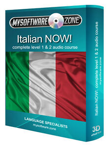 LEARN-SPEAK-ITALIAN-NOW-COMPLETE-LEVEL-1-2-AUDIO-LANGUAGE-COURSE-MP3-CD-GIFT