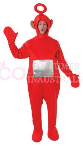 Teletubbies Costume Party Fancy Dress Up Licensed Outfit Unisex Adult Jumpsuit