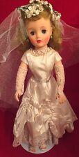 Vintage Miss Revlon 18 inch Bride Doll