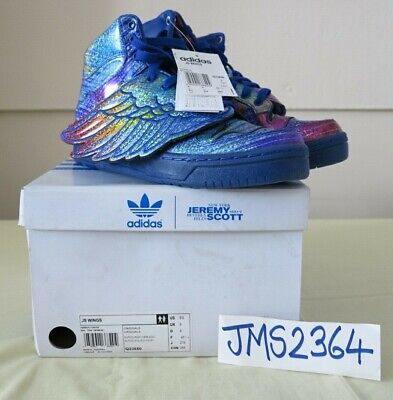 ADIDAS ORIGINALS JEREMY SCOTT WINGS MUITICOLOUR supercolor 9.5US 9UK nouveau | eBay