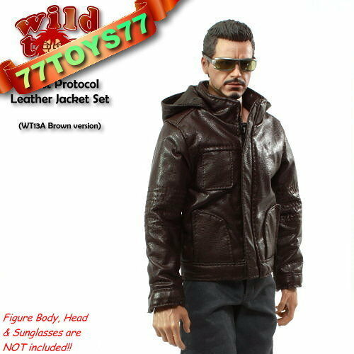 Wild Toys 1//6 Ghost Protocol Jacket/_ Brown Jacket+Grey Pants/_ Fashion NOW WT019A