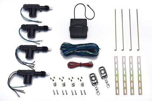 Universal Car Auto Central Locking Keyless Entry Actuator Motor Hand Remote Key
