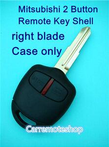 Mitsubishi-Lancer-EVO-CT9A-VII-VIII-IX-2-Button-Remote-key-shell-case-with-blade