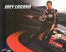 2008 Joey Logano Joe Gibbs Racing Toyota Camry NASCAR postcard