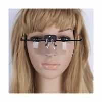 Magnifier Glasses W/ Led Light For Lash Extensions - 3 Lenses M... Free Shipping