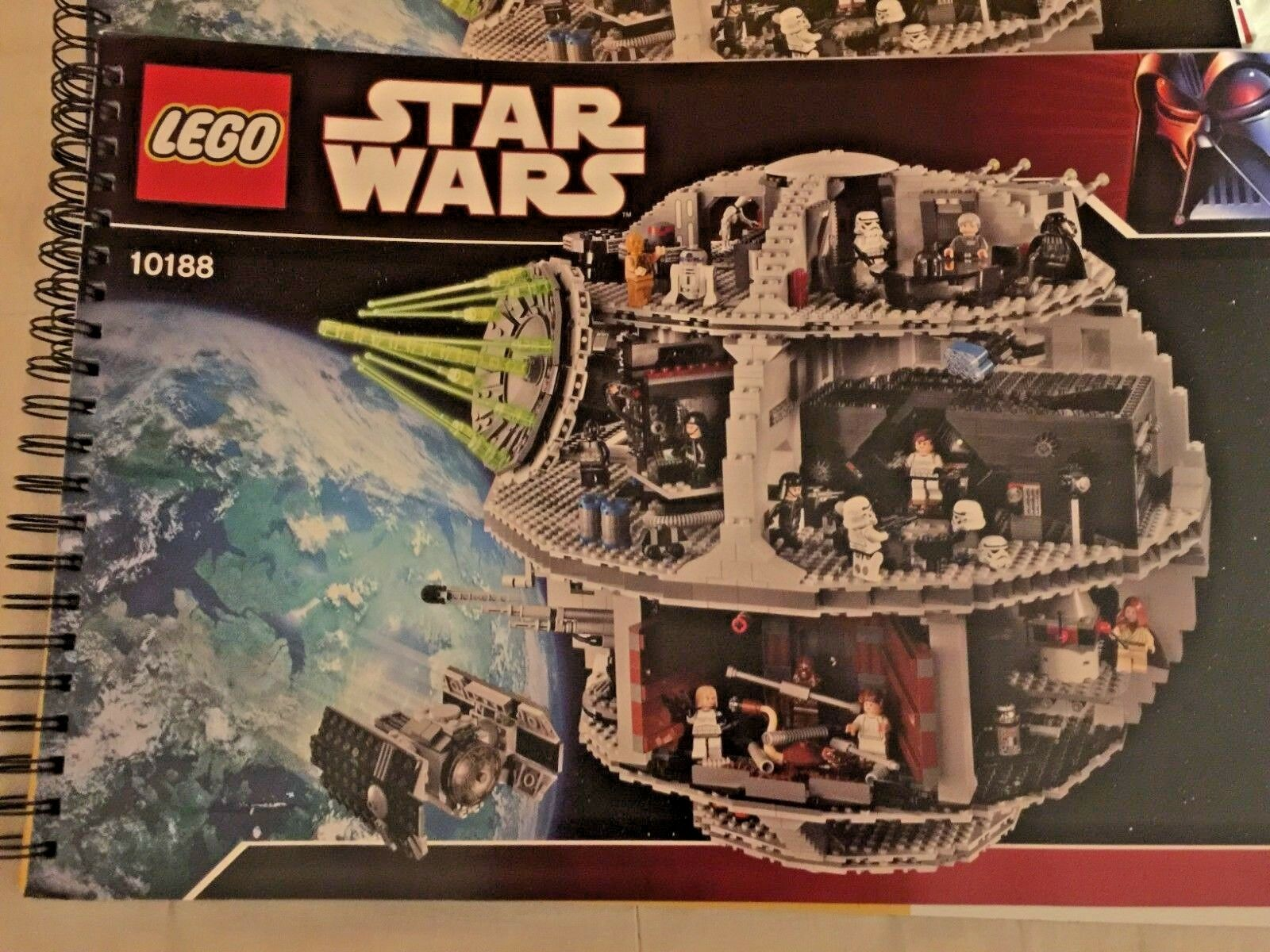 Istruzioni LEGO Star Star Star Wars 10188 Morte nera Death Star instructions book libro b50c19