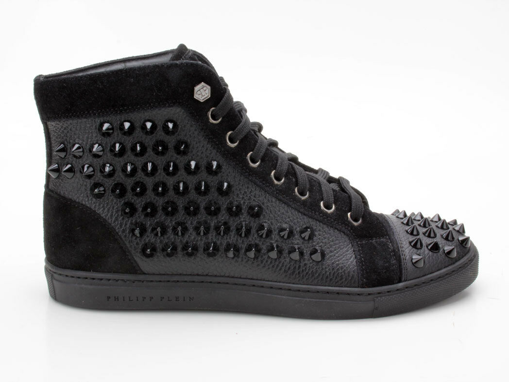 Philipp Plein FW 14 sw150464 zapatillas con Mosaico Schwartz