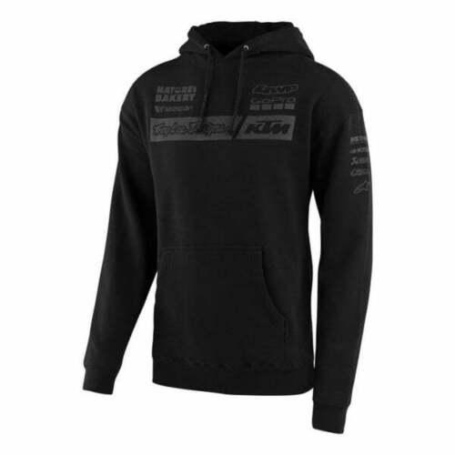 Troy Lee 2020 Adults Team KTM TLD Motocross MX Enduro Pullover Hoody Black