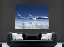 BOEING 787 DREAMLINER POSTER JETLINER GIANT WALL AEROPLANE ART PICTURE PRINT