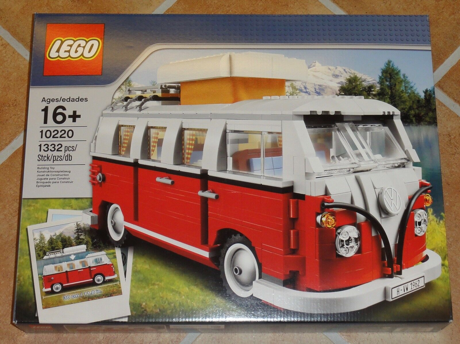LEGO ® Creator Expert 10220 vw t1 consomme 1. EDITION NEW & SEALED