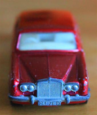 Begeistert Matchbox Superfast Nr.24 Rolls Royce Silver Shadow Pat.nr.1072412 Rotmetallic