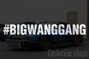 JDM Lowered Static Stance Low Drift Slammed Racing 40 MPG V1 Decal Sticker