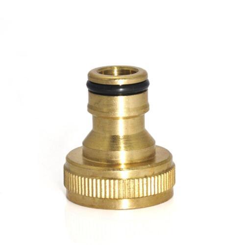 Universal Garten Wasserschlauch Rohrhahn Messing Connector Adapter Fitting