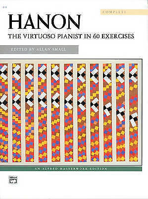 Hanon -- The Virtuoso Pianist: Complete, Comb-Bound Book by Alfred Music...