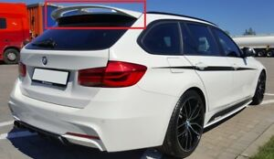 Details Zu Bmw 3 Series F31 Touring Rear Roof Spoiler M Performance Look New