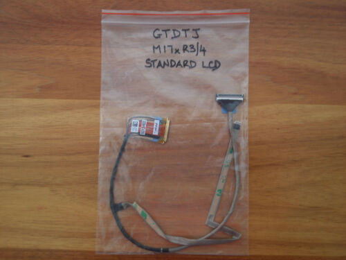 BRAND NEW OEM ALIENWARE M17x R3R4 LCD CABLE ASSEMBLY NON 3D GTDTJ 0GTDTJ