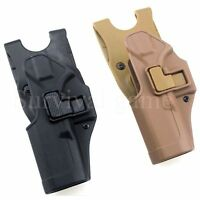 Tactical Glock Holster Left Hand Waist Belt Pistol Holster For Glock 17 19 22 23