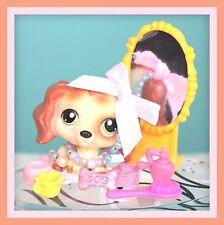 ❤️Littlest Pet Shop LPS Cocker Spaniel Dog PUZZLE No # ~ HONEY Accessories LOT❤️